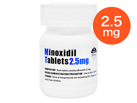minoxidiltablets2.5mg